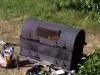 meat roasting