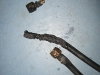 Burnt propane hose